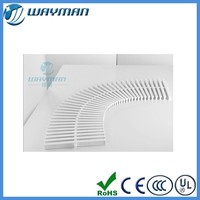 [10%discount] swimming pool overflow grating, plastic drain grate