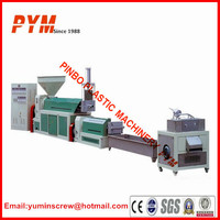 Waste plastic bags and waste plastic film recycling machine for sale