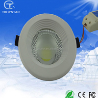 aluminum recessed high brightness 10w led ceiling down light fixtures