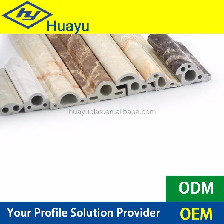 PVC artificial marble/ imitation stone line UV door frames