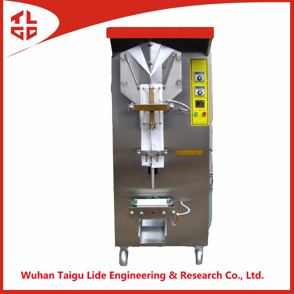 2016 Manufacture Vertical automatic sachet liquid water packing machine/ filling sealing machine