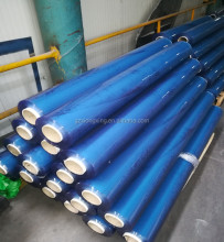 can see paper tube new colour soft transparent lamination PVC film