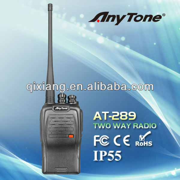AT-289 walkie talkie with FCC,RoHS&CE approval