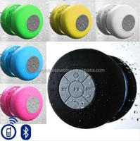 Portable Subwoofer Shower Waterproof Wireless Bluetooth Speaker Car Handsfree Receive Call Music Suction Mic For Samsung