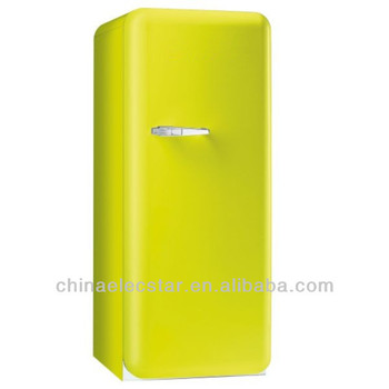Retro Refrigerator With Right Hand Hinge, kitchen refrigerator