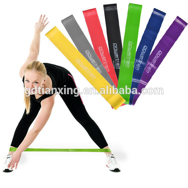Custom Healing Fashion Fitness Resistance Loop Band