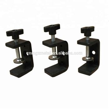 OEM High Quality Customized Black Mounting Metal Table Clamps