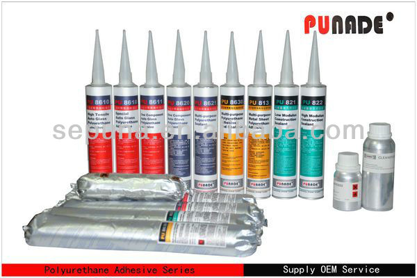 PU sealant adhesive for automotive windshied repair/ mobility scooter windshields sealant