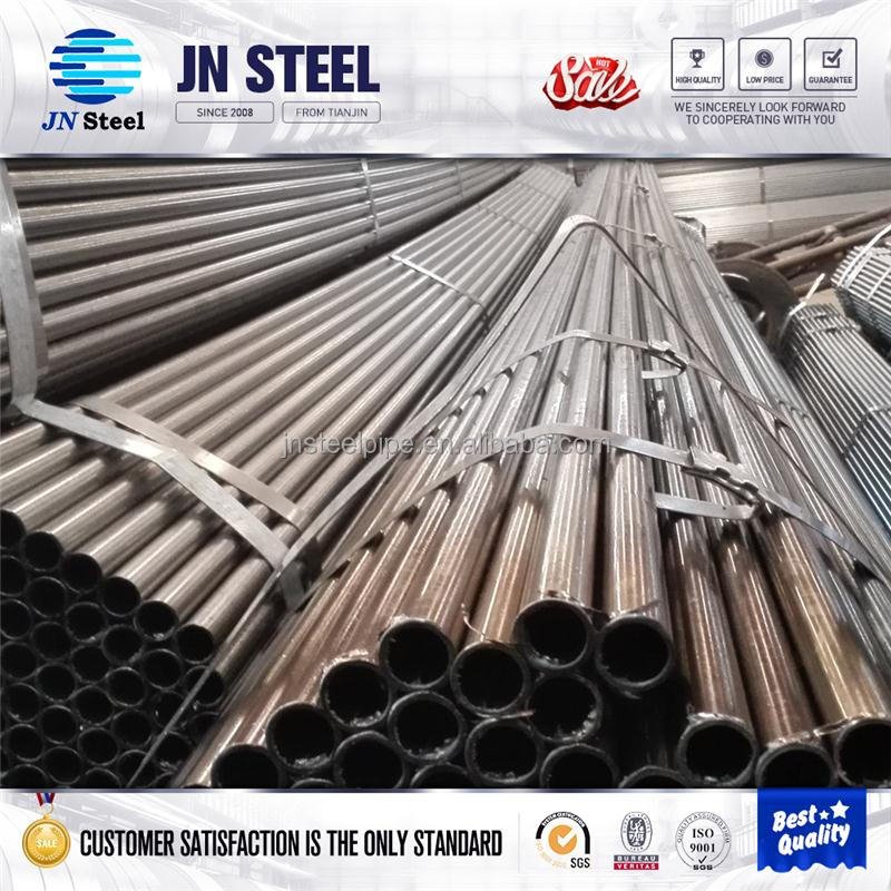 Tianjin supplier schedule 40 wall thickness Carbon Steel pipe with high quality