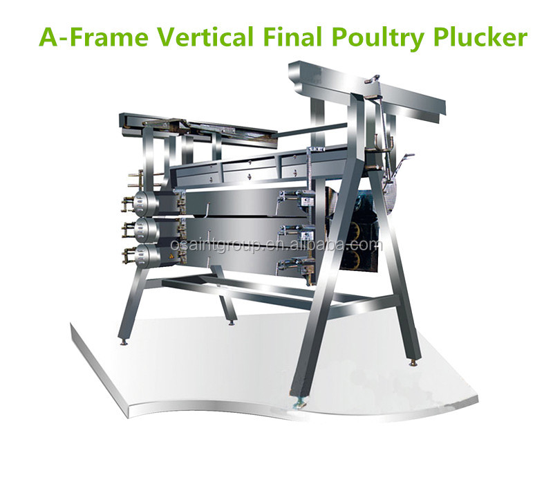 Poultry slaughtering processing line automatic chicken plucking machine for sale