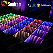 Buy Disco RGB New Light Up Dance Floor Led Video Interactive Used 3D DJ Led starlit dance Floor For Sale