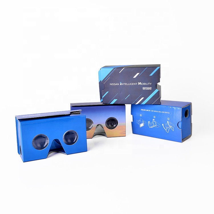 Factory Price OEM Customized 37mm Lens Google Cardboard V2 3D Glasses VR Virtual Reality Cardboard