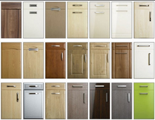 Cheap Price PVC MDF Kitchen Cabinet Doors
