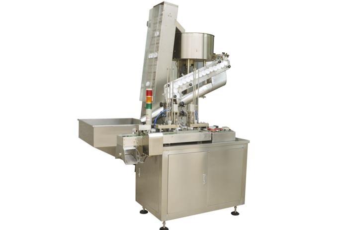 cap lining machine