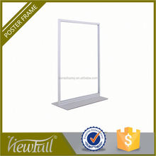 Portable smooth base with EVA mat poster board display rack
