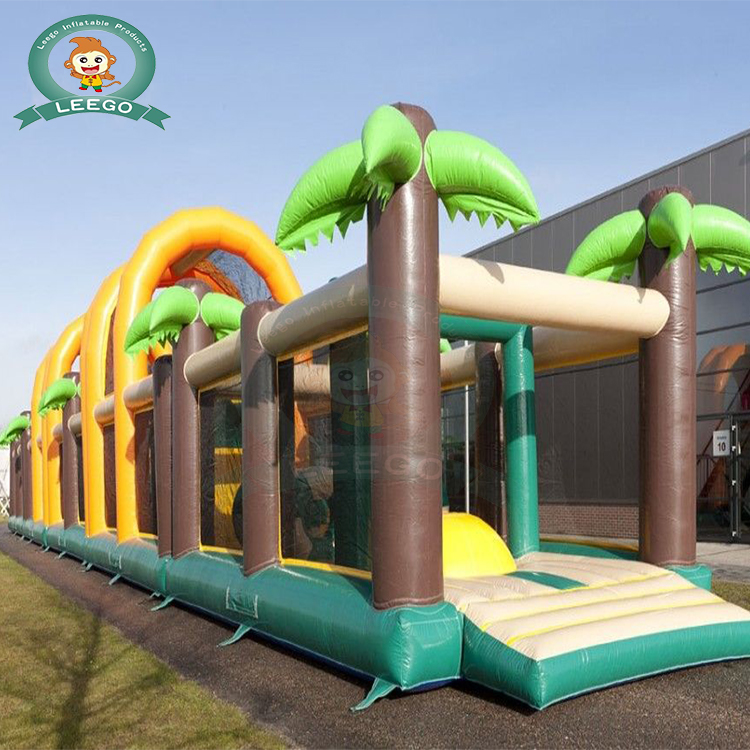 LEEGO High quality giant inflatable obstacle course cheap for sale