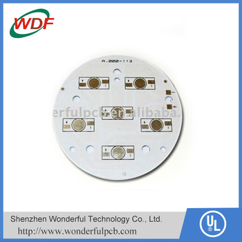 Aluminum round led light circuit boards