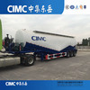 CIMC Manufacturer 50 CBM 55 CBM 60 CBM Bulk Cement Tanker Trailer For Sale