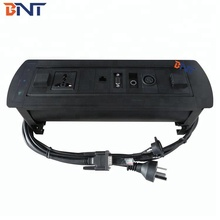 BNT Office Electrical Desk Power Outlet With MIC Power Plugs EK6110
