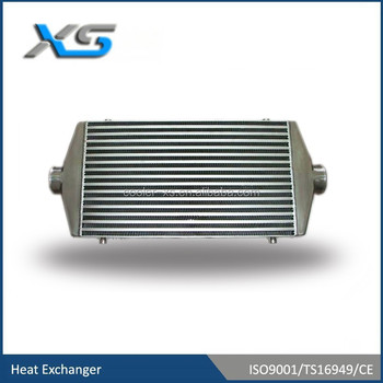600mm*300mm*76mm front mount universal Intercooler