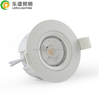 CE,Rohs,NEMKO Cob downlight without box Actec driver norge cutout83mm