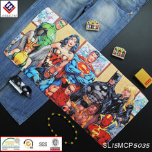 Europe/America trend Superman Batman 3D printing fashion cartoon towels