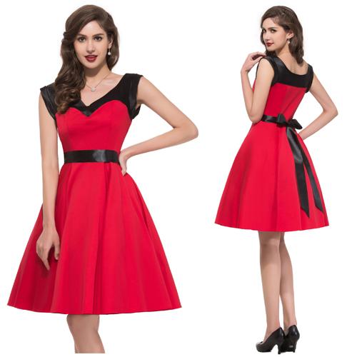 Cheap Rockabilly Dress Patterns Plus Size, find Rockabilly Dress ...