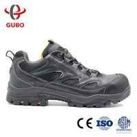 sport style protective chef full grain leather protect toe strong and comfortable safety shoes with ENISO20345