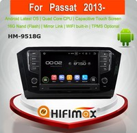 Hifimax Android 5.1.1 car gps dvd for VW Passat volkswagen passat car stereo gps wifi 3g gps dvd player for vw passat 2013 2014
