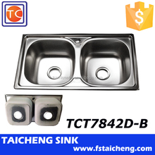Size-780x420mm Small Double Kitchen Sink