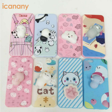 Best selling finger pinch 3D kneading japan squishy kawaii cartoon anime phone case