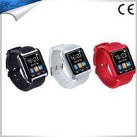 3 colors New Sport U8 U80 Bluetooth Smart Wrist Bracelet Watch Phone Mate For Android IOS