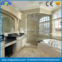 Wholesale price used white marble lowes bathroom countertops