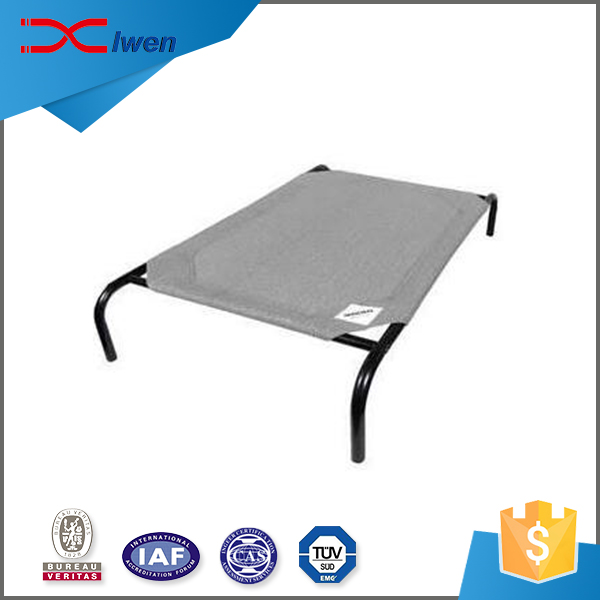 Wholesale custom painted Iron pipe and nylon pet bed metal
