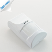 Battery Operated Wireless 433MHz Home Security Alarm PIR Sensor