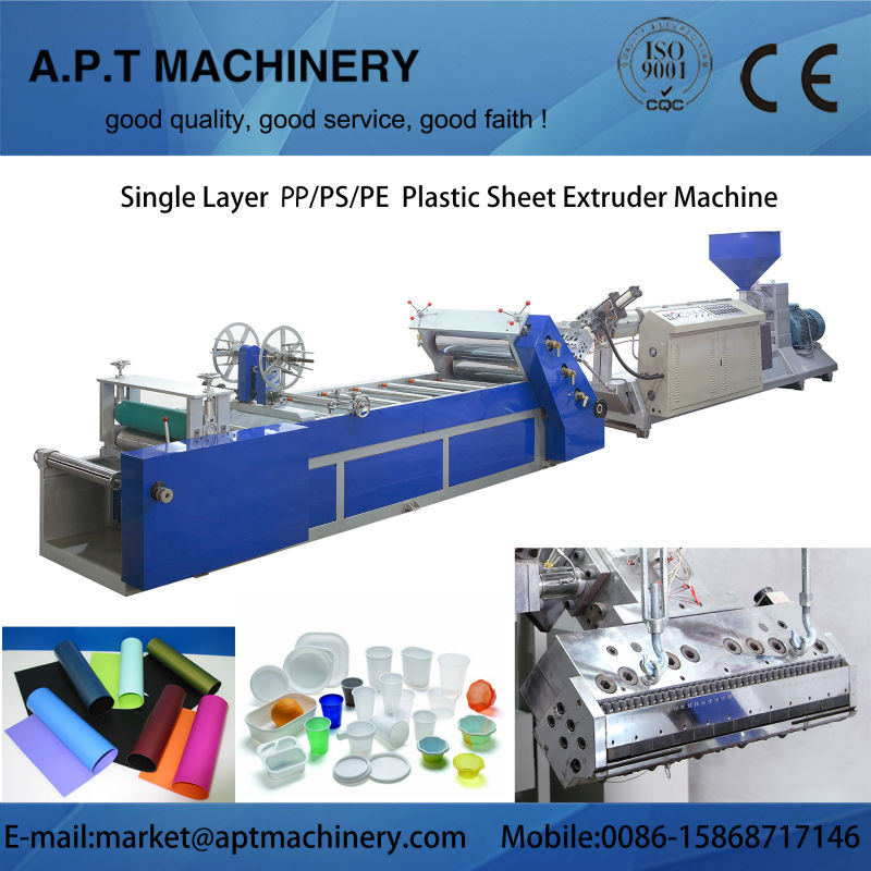 High Quality PP/PE/PS sheet extrusion