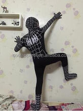 halloween superhero party boy black spiderman costume
