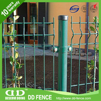 Welded Mesh Fence Panel / Net Fencing For Gardens / Square Hole Size Fence
