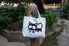 Sympathy Heavy Strong Handle Cotton Canvas Boat Tote Bag