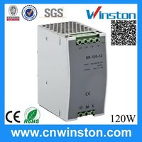 DR-120-24 120W 24V 5A Customized New Coming Single Output Industrial DIN Rail Switching Power Supply with CE