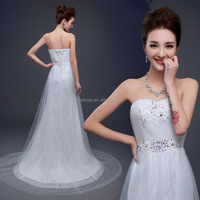 Z60751Y New Design Women Classic Pattern Bridal Wedding Dresses