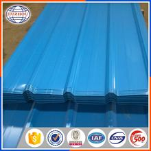 HOT house building material color coating corrugated roof and wall waterproof sheet