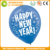 The best quality advertising 2.8 grams gold and silver latex balloon happy new year decoration