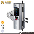 fingerprint door lock with remote control for glass door