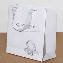 different types of packaging paper gift bag for shopping