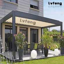China Supplier Balcony Automatic Aluminium Pergola Systems
