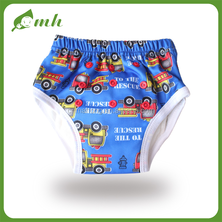 Baby new designs zhejiang hemp Anti bacterial and Eco-friendly Training Underwear