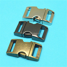 China supplier metal side release buckle 2,metal strap bag clip buckle,quick release buckle