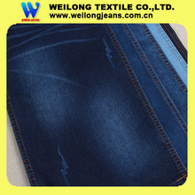 "B3064C 62/63"" heavy weight 11oz super dark blue rolls of 95 polyester 5 spandex denim fabric wholesale rock revival jeans"