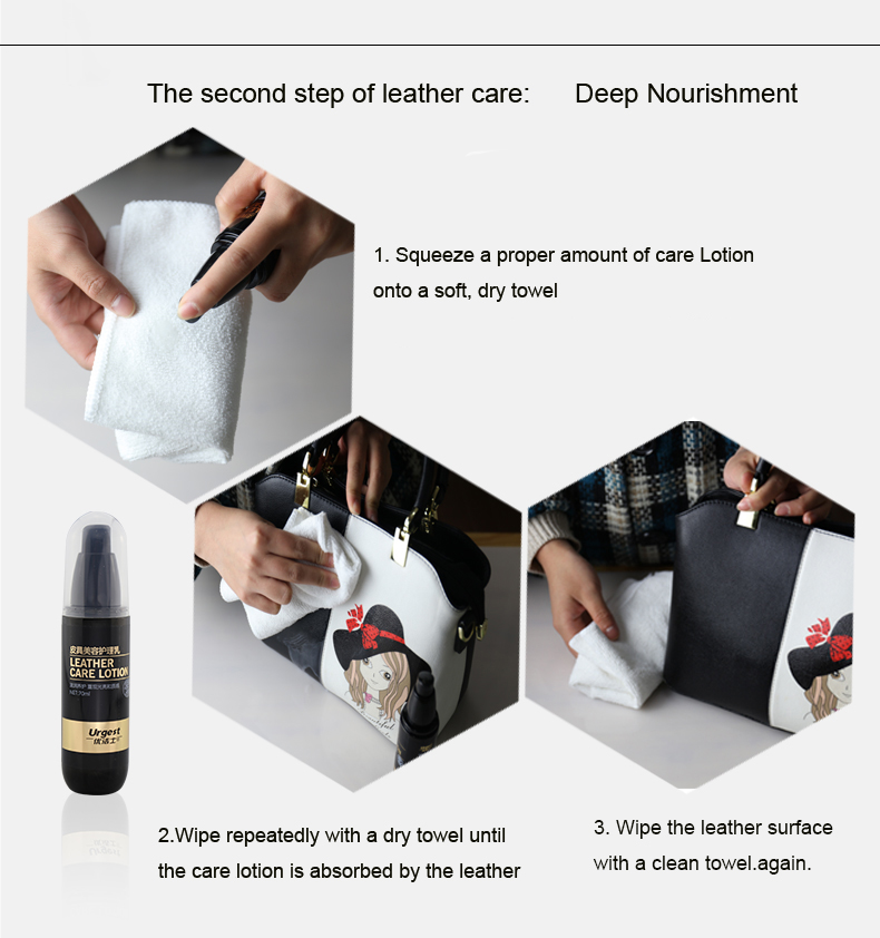 2019 hot sales leather care products leather bag cleaner & conditioner for sales with customized logo
